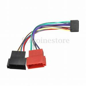16 Pin Car Stereo Radio Iso Wiring Harness Connector