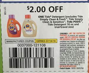 Tide Simply Clean Coupons Printable