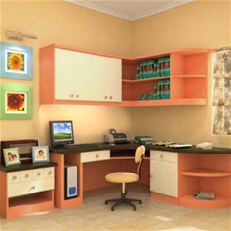 desain ruang belajar  perpustakaan rumah