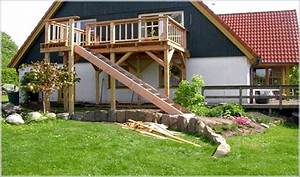 auentreppe holz affordable holztreppe with auentreppe With katzennetz balkon mit garde automatic