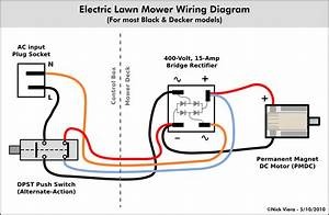 S Electric Lawn Mower Wiring Diagram