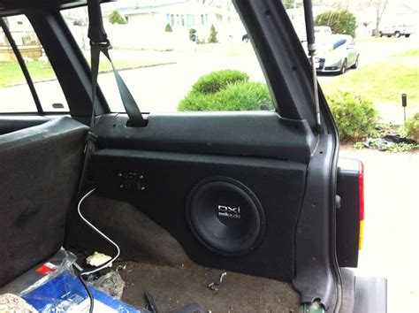 custom speaker box jeep cherokee forum