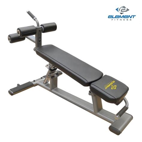 Element Fitness Commercial Abcrunch Bench #e3589 [e3589