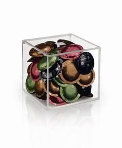 Cube Plastique Transparent : cube capsule dispensers nespresso ~ Farleysfitness.com Idées de Décoration