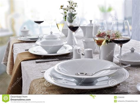 Ceramic Tableware Stock Photo   Image: 27365930