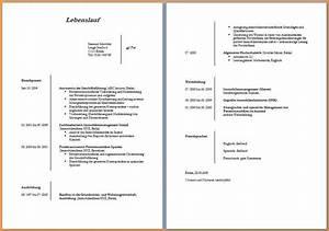 3 lebenslauf muster kostenlos questionnaire templated for Lebenslauf sch muster kostenlos