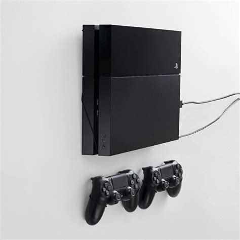 floating grip wall mounts  playstation xbox