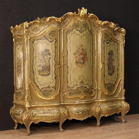 armadio stile veneziano originalit 224 in casa i mobili antichi laccati
