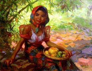 43 best images about Fernando Amorsolo paintings on ...