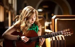 Girl guitar music mood wallpaper   1920x1200   133370 ...