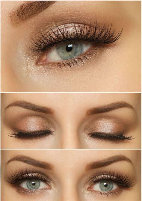 natural wedding makeup  blue eyes blue eye makeup