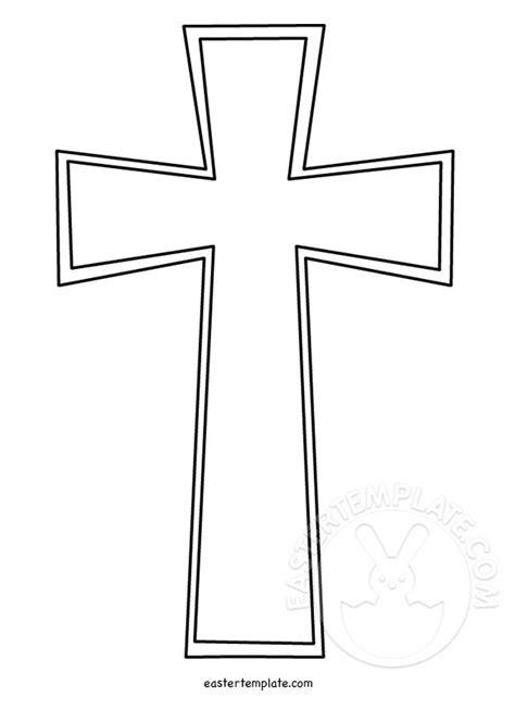 cross template christian cross template easter template