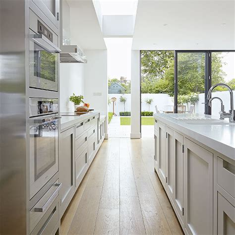 galley kitchen extension ideas modern kitchen extensions our of the best ideal home 3700