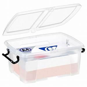 Boite De Rangement Plastique : cep strata boite de rangement plastique 12 litres bo te ~ Edinachiropracticcenter.com Idées de Décoration