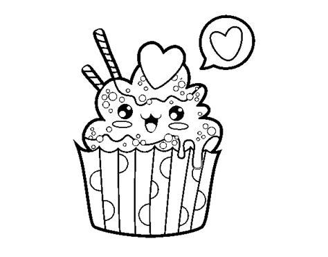 immagini da colorare disney kawaii disegno di cupcake kawaii da colorare acolore