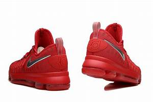 KD 9 Sport Red Silver Basketball Shoes 2016 For Sale | New ...