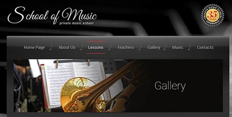 Music School Html Bootstrap Template