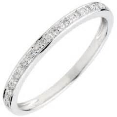 bague de mariage or blanc alliances mariage alliances or blanc diamant edenly