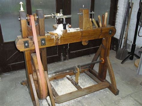 working   treadle lathe  tuoh  lumberjocks