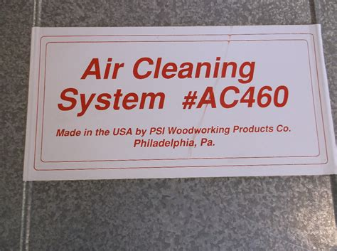 psi air cleaning system ac ebay