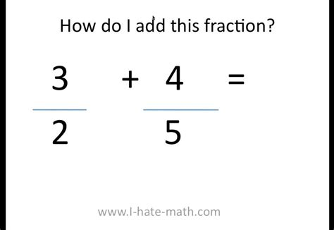 How To Add Fractions Youtube