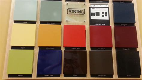 viking colors add color to your kitchen shore squeeze