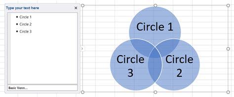 Make Venn Diagram Excel Periodic Diagrams Science