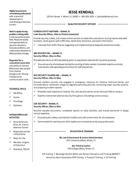 Officer Resume Exles bank security officer resume sales officer lewesmr