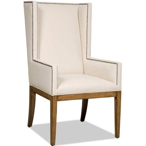 brookhaven upholstered dining arm chair in cherry 300 350035
