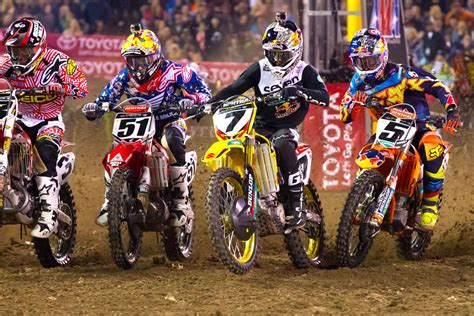 ama motocross 2014 results 2014 ama supercross anaheim 1 results motorcycle com news