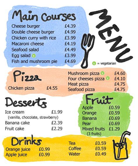 restaurant learnenglish teens british council
