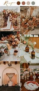 top10 bohemian rust wedding colors for fall wedding 2020