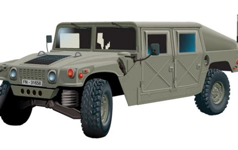 military hummer drawing army hummer vector free download
