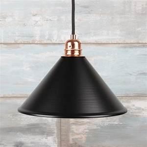 E27 Fassung Metall : vintage metall lampenschirm schwarz f r e27 fassung 22 95 ~ Orissabook.com Haus und Dekorationen