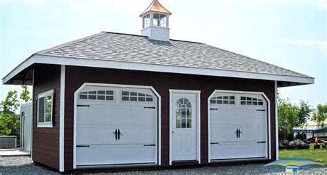 garage cupola hip roof shed hip roof garage horizon structures