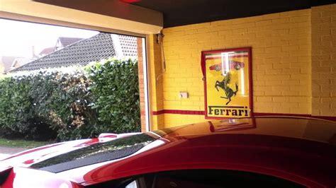 Ferrari 458 In Garage Youtube
