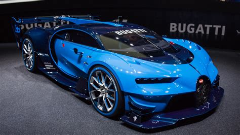 Bugatti's Vision Gran Turismo Is A Ridiculous Video Game