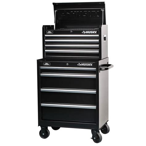 husky tool storage cabinets husky 27 in 8 drawer tool chest and cabinet set rust