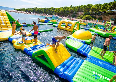 Inflatable Boat Online India by Buy Online Inflatable Jumpking Aqua Park Bounce House