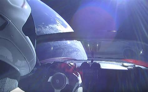View Live Tesla Car In Space Pictures