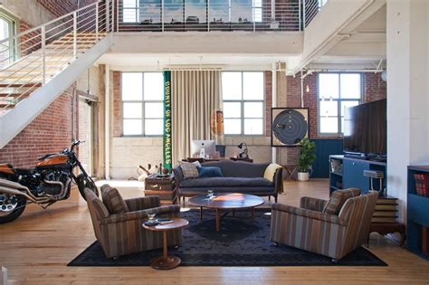 motorcycle   living room   manly home picks pinterest  ojays