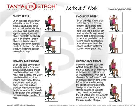 desk exercises at work workouts to do at your desk hostgarcia