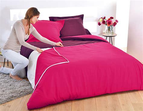 housse de couette tex linge de lit pratique