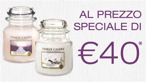 Candele Yankee Prezzo by Promo Yankee Candle Papaveri E Papere