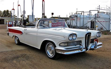 Under Appreciated: 1958 Edsel Pacer Convertible