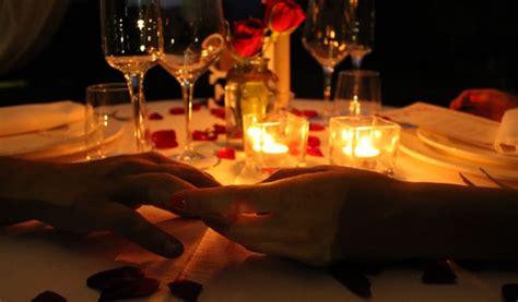 cena lume candela san valentino al ristorante nido falco cena al lume
