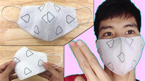mundschutz selber naehen ohne naehmaschine maske selbst