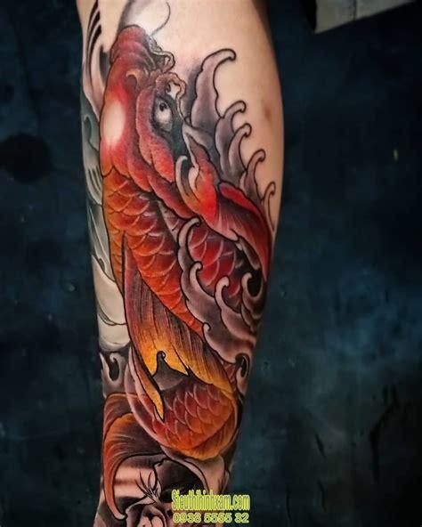 13 cách vẽ cá chép hoá rồng đẹp hút hồn của giới nghệ sĩ. 350+ Những hình xăm cá chép đẹp nhất - Tattoo Cá Chép | Hình xăm, Xăm, Cá chép