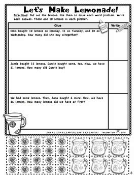 math review worksheets 2nd grade math literacy for