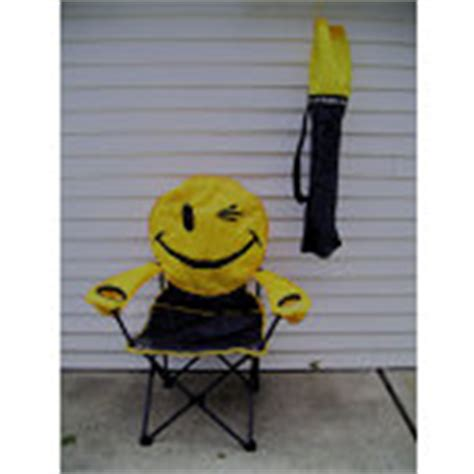 smiley deluxe chair yellow joe boxer smile happy 06
